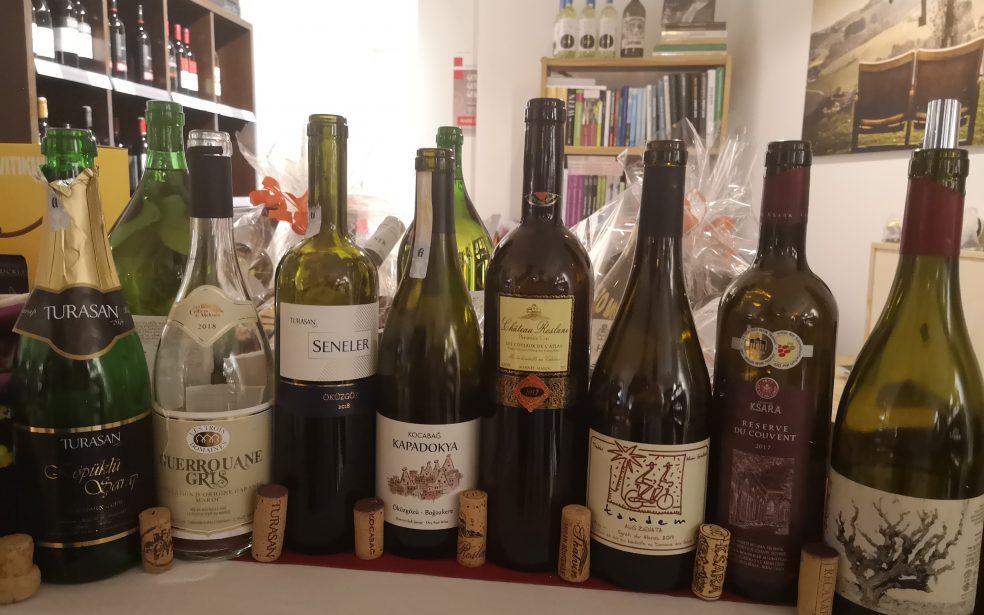 Weinverkostung Wird Wild